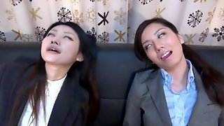 Japanese Girls Mesmerized