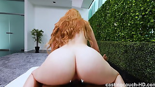 Redhead Country Girl Creampied By 1st Black Cock