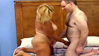 TANNED MILF GETS FUCKED BY AN UGLY GUY... -JB$R